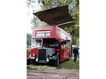 Leyland PD3 British Double Decker Bus Open Top Deck Pub Bar Hospitality - двокатен автобус
