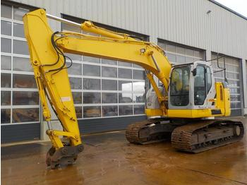 New Holland Kobelco E225BSR 700mm Pads, CV, QH, Piped, Aux. Piping, Reverse Amera, A/C - багер гасеничар