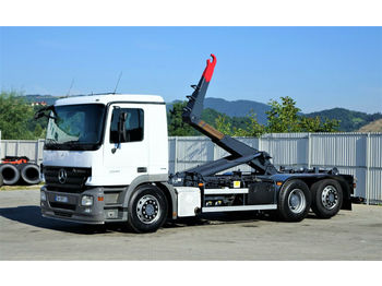 Камион со кука за подигање Mercedes-Benz ACTROS 2541 Abrollkipper 6,40m *6x2* Top Zustand