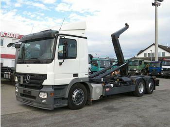 Камион со кука за подигање Mercedes-Benz Actros 2541 L6x2 Abrollkipper Meiller
