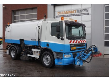 DAF FA 75 CF 250 Bucher Schorling Optifant 70 - камион за метење